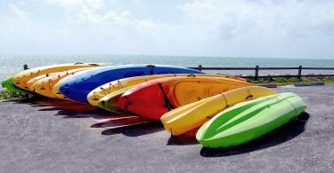 Sit-on-top-kayak