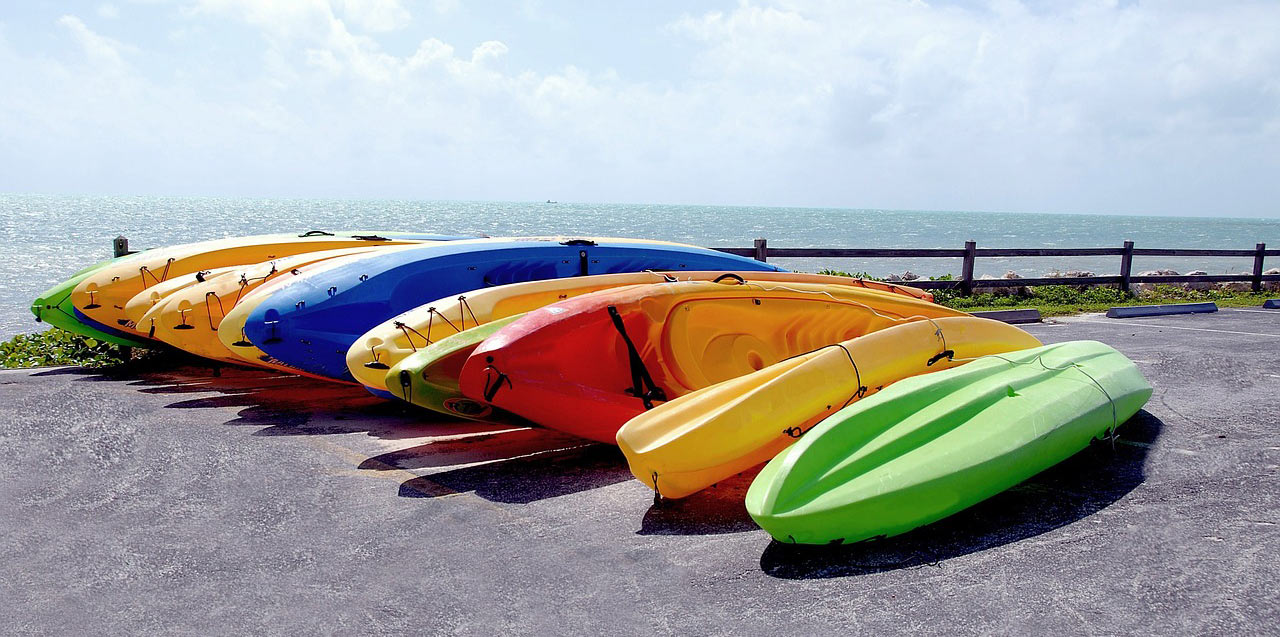 Sit-on-top-kayak