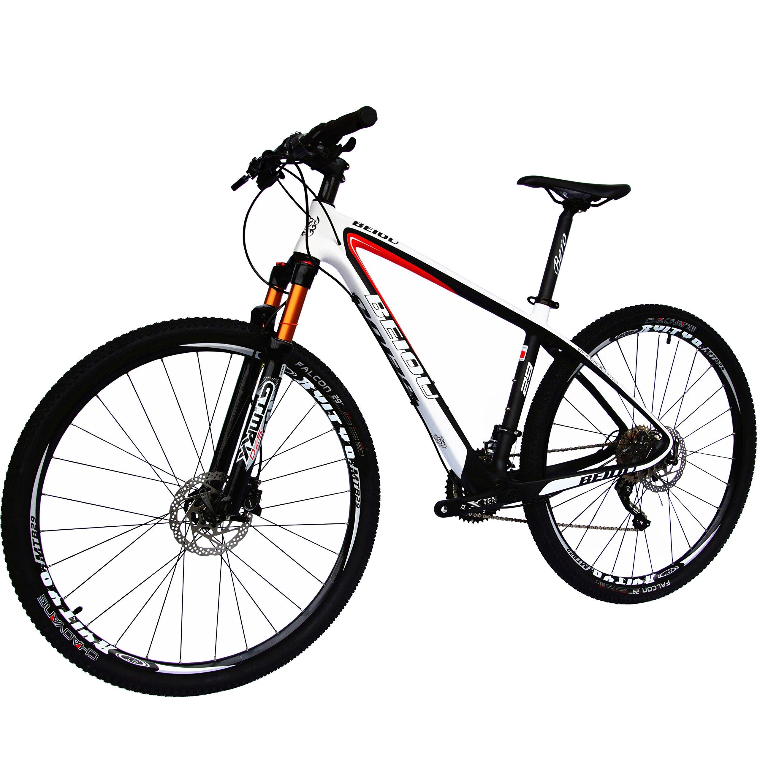 Beiou Carbon Fiber Mountain Bike Review 3