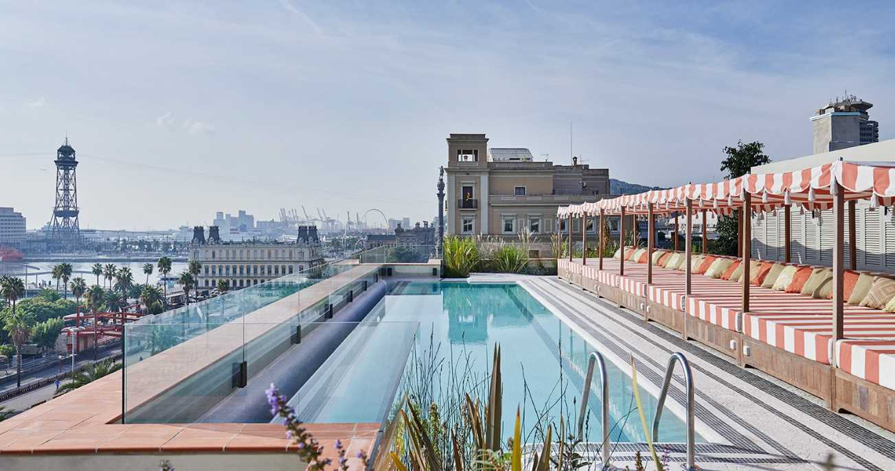 Soho House Barcelona-pool
