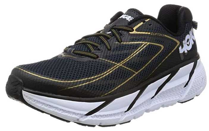 HOKA ONE ONE Mens Clifton 3 Running Shoe
