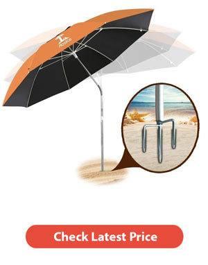 Best Beach Sunshade [Portable Sun Shade Buying Guide] 5