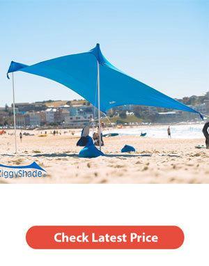 Best Beach Sunshade [Portable Sun Shade Buying Guide] 1